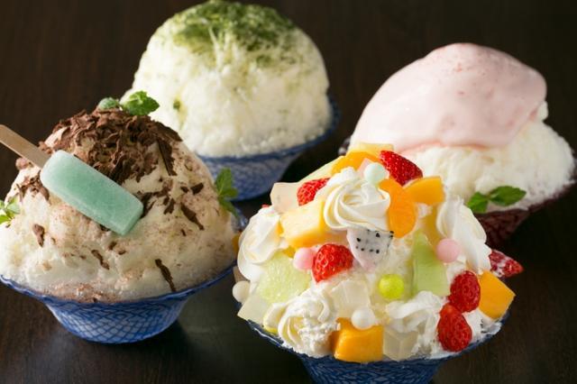 画像1: ホテルパティシエによる趣向の異なった4種のご褒美かき氷登場!