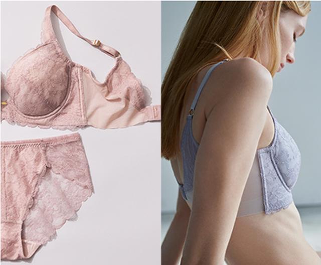 画像3: 大人の女性の体型を美しく、若々しく見せる「トライアングルライン」を叶えるブラがSALON by PEACH JOHNより誕生!