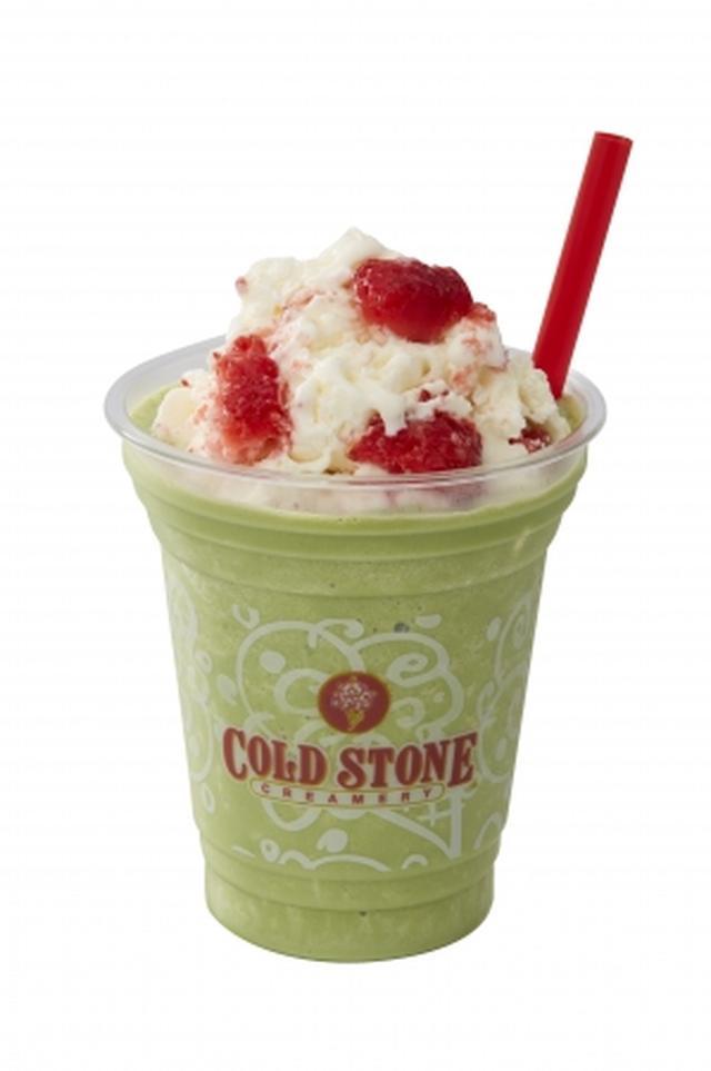画像3: コールドストーンのデザートドリンク「COOLLY'S」に新フレーバー『カフェ クッキー チーズケーキ』『グリーンティー ストロベリー ミルク』登場!