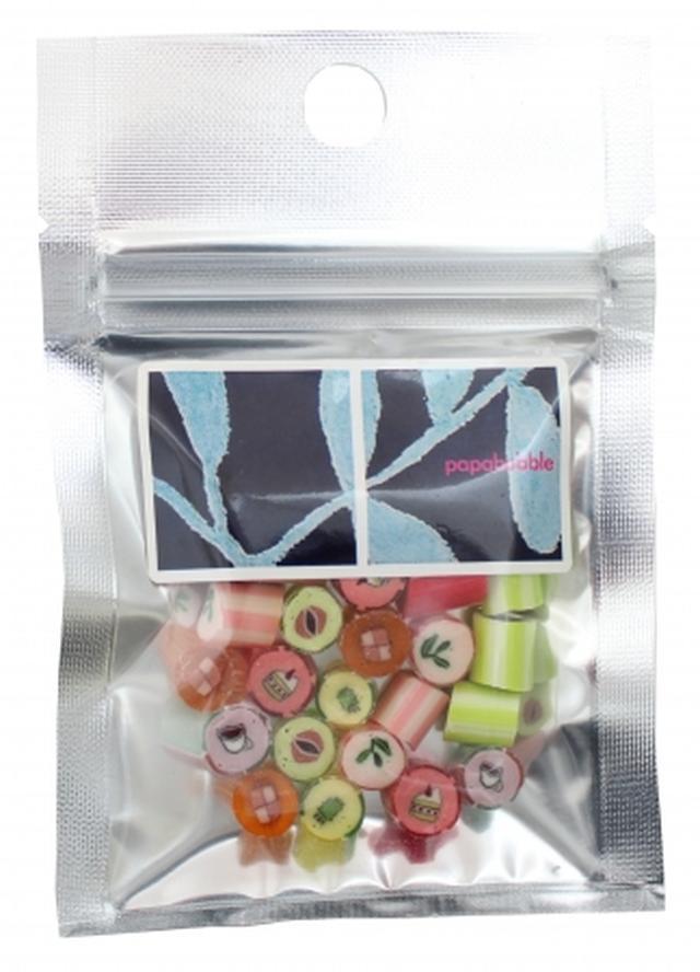 画像2: 「パパブブレ」×「ルピシア」のコラボキャンディが販売!