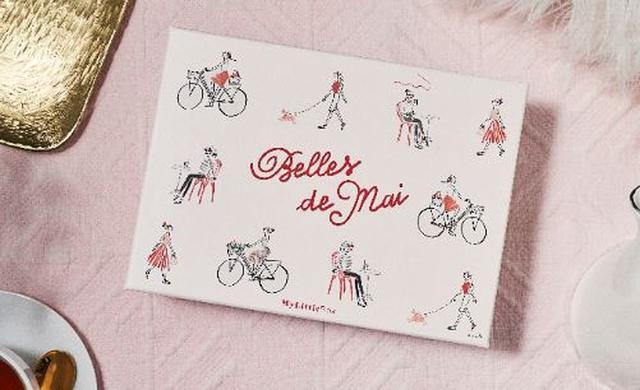 """画像: 「Belles de Mai」というボックスの名の通り、""""5月に華やかに咲き誇る女性たち""""をイメージしています。"""