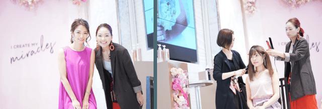 """画像: 「花嫁を2倍美しくする」ヘアメイク服部由紀子さんのヘアアレンジ体験をプレゼント! """"ミラクルズでケアした髪は保湿されていて、ツヤが出しやすい""""とコメント"""