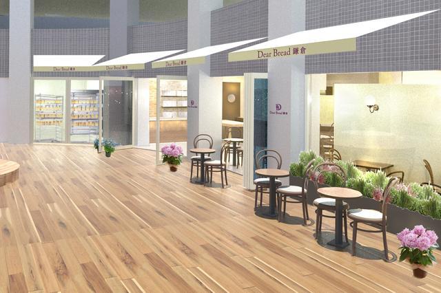 画像6: 連日行列「極上 鎌倉生食パン」と アフタヌーンティーセットが自慢のベーカリーカフェ&レストラン 『ディアブレッド鎌倉』グランドオープン