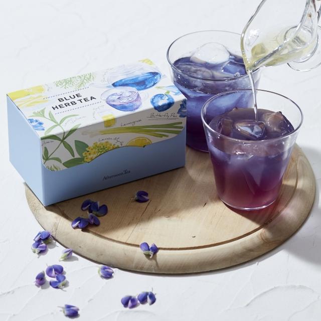 画像2: ピンクとブルーのハーブティーなど夏のお茶3 種