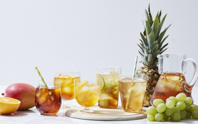 画像: 【Afternoon Tea】夏らしいドライフルーツと楽しむ「ピンクフルーツハーブティー」とブルーから紫へ色の変化を楽しむ「ブルーハーブティー」新発売