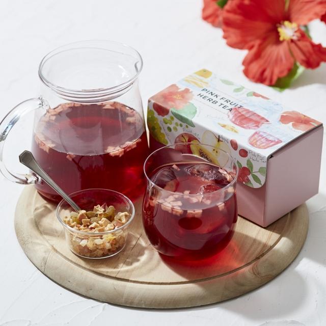 画像1: ピンクとブルーのハーブティーなど夏のお茶3 種