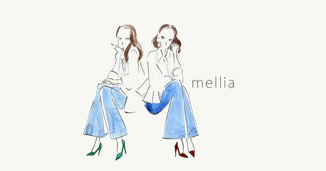 画像: mellia 公式ブランドサイト