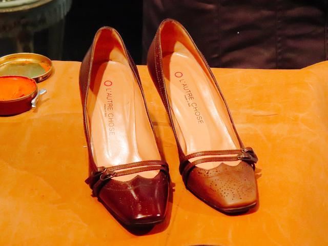 画像: もちろん左がメンテナンス後の靴です!
