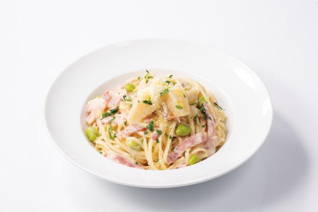 画像6: 食感が楽しいヤングコーンをピリ辛テイストで仕上げた 『ポークとヤングコーンのピリ辛トマトソースパニーニ』