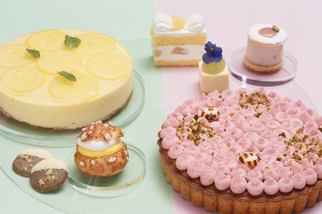 画像4: とろけるもも&爽やかレモンのスイーツビュッフェ 『Sweets Buffet Peach & Lemon Sisters』