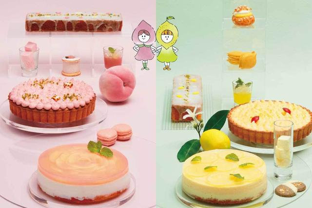 画像1: とろけるもも&爽やかレモンのスイーツビュッフェ 『Sweets Buffet Peach & Lemon Sisters』