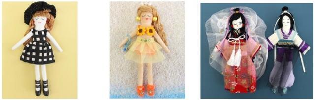 画像4: 浴衣から洋服まで、お好み・憧れのコーディネートが楽しめる! ご自宅にある余り布で、様々なコスチュームに大変身!