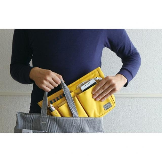 画像1: 大きなトートバッグでも整理整頓できるバッグインバッグがヴィレヴァン通販に新登場!