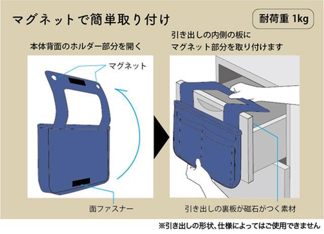 画像5: 大きなトートバッグでも整理整頓できるバッグインバッグがヴィレヴァン通販に新登場!