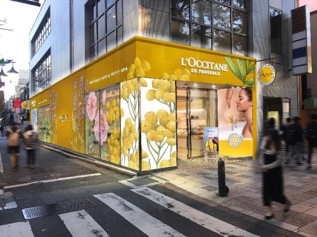 画像: 日本初!ロクシタンのスパ&カフェ併設の体験型コンセプトストアが誕生