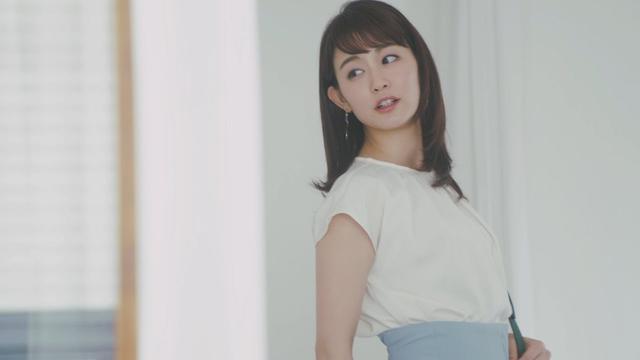 画像: 新井恵理那さん 『よくばりビューティー』編 │ ワコールガードル www.youtube.com