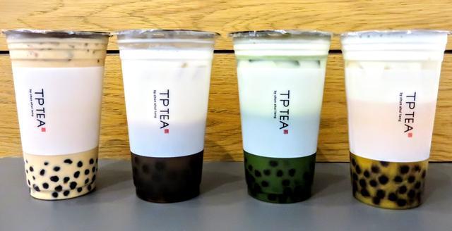 画像: 『TP TEA 六本木ヒルズ店』のメニュー