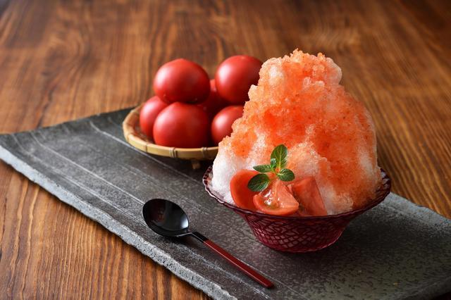 画像: トマト尽くしかき氷:界 阿蘇(大分県・瀬の本温泉)