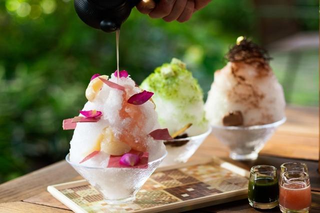 画像1: 箱根のリゾートで涼む「かき氷」&夏の新メニュー登場!
