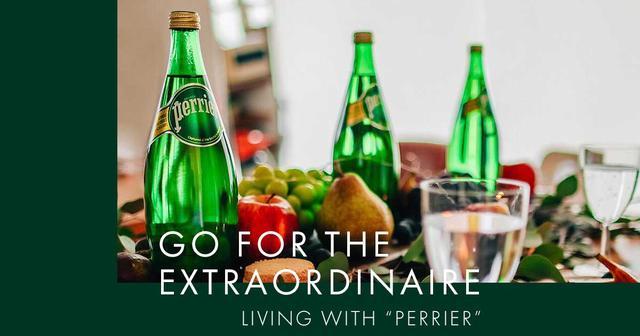 画像: PERRIER|GO FOR THE EXTRAORDINAIRE