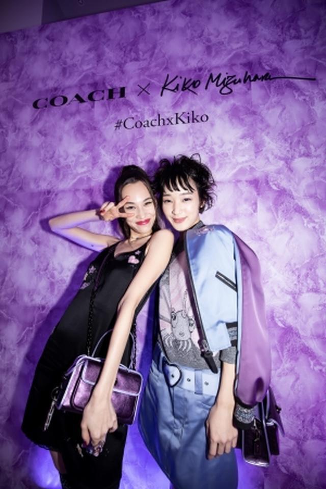 画像3: 「COACH x KIKO MIZUHARA カプセルコレクション」ローンチイベント開催