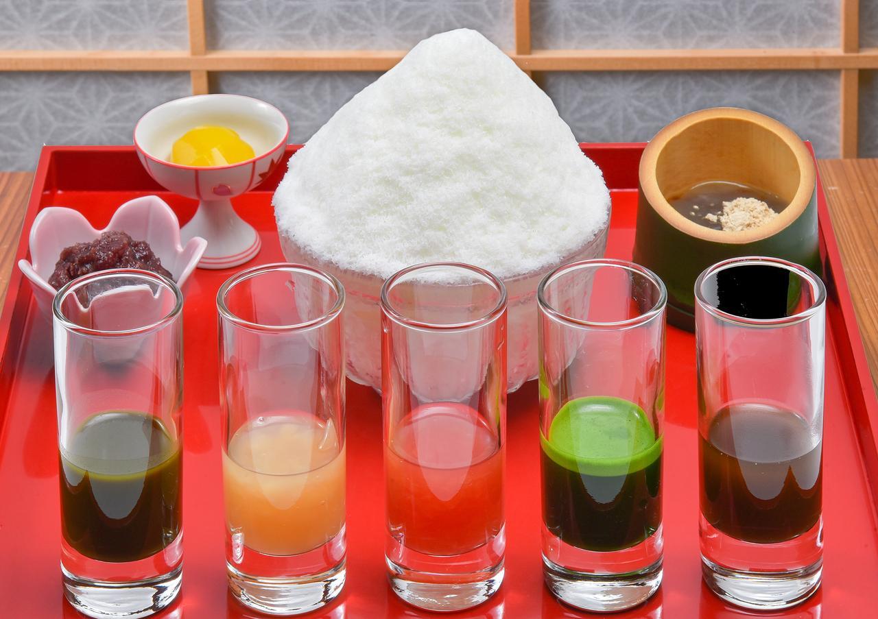 画像1: かき氷の聖地「奈良県」から5種類のソースで味わえる ふわふわミルクかき氷が新発売!