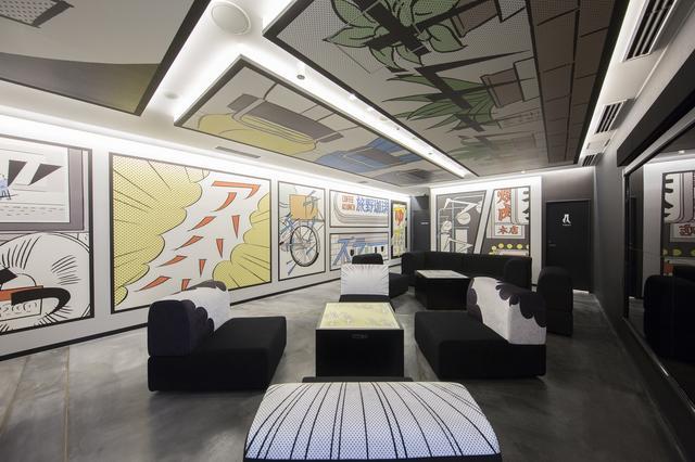 画像: デザイナー津田井美香さんによるマンガアート
