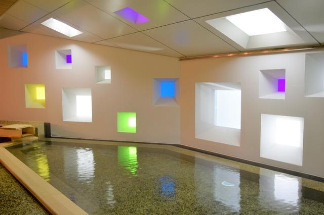 画像: 洗練されたデザインが際立つ大浴場(女性用)