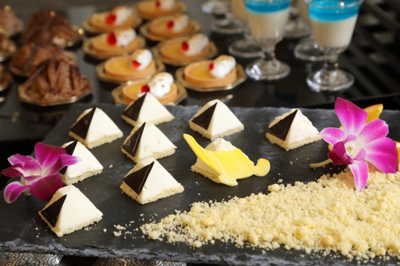画像4: 軽食&スイーツ約30種類が食べ放題!『アラジンと魔法のランプ ランチ&デザートブッフェ』開催