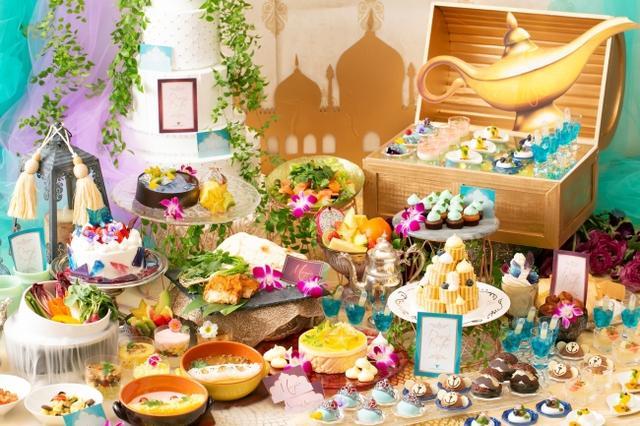 画像1: 軽食&スイーツ約30種類が食べ放題!『アラジンと魔法のランプ ランチ&デザートブッフェ』開催