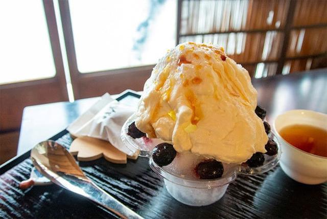 画像4: 純氷のかき氷×果物+かりんとう饅頭 『KAKI GORI阪急梅田店』期間限定オープン!