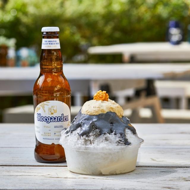 画像2: Hoegaarden BEER GAARDEN 一日20食限定「かき氷の女王」監修メニュー!海苔×レアチーズ!? 白ごま×みそ×メープル!?ヒューガルデンとペアリングした 新しいかき氷が登場