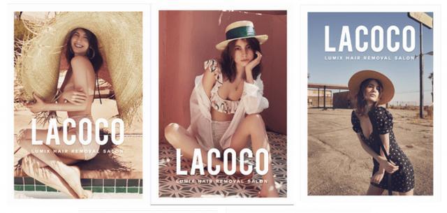 """画像4: ファッションアイコン・マギーが夏のLAで魅せた!ファッショナブルな水着やフェススタイル!いまトレンドの""""肌見せ""""ファッションは、旬の「うるすべ美肌」がなくちゃ始まらない!"""