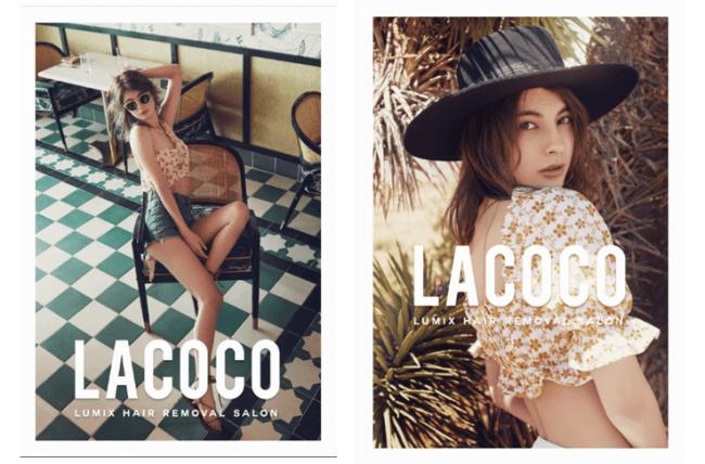 """画像2: ファッションアイコン・マギーが夏のLAで魅せた!ファッショナブルな水着やフェススタイル!いまトレンドの""""肌見せ""""ファッションは、旬の「うるすべ美肌」がなくちゃ始まらない!"""