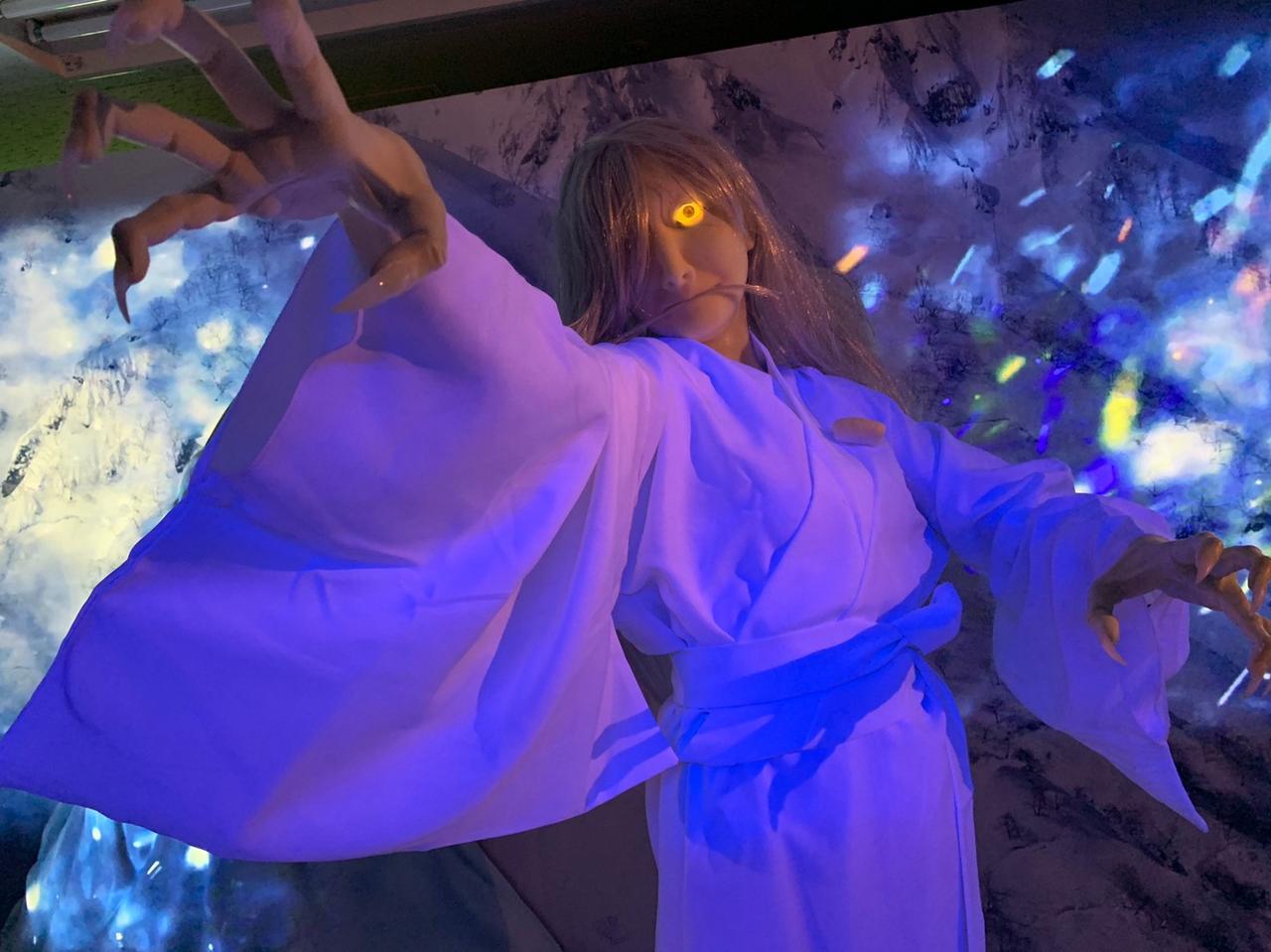 画像2: 妖艶な女妖怪たちと閉じ込められた灼熱の洞窟!