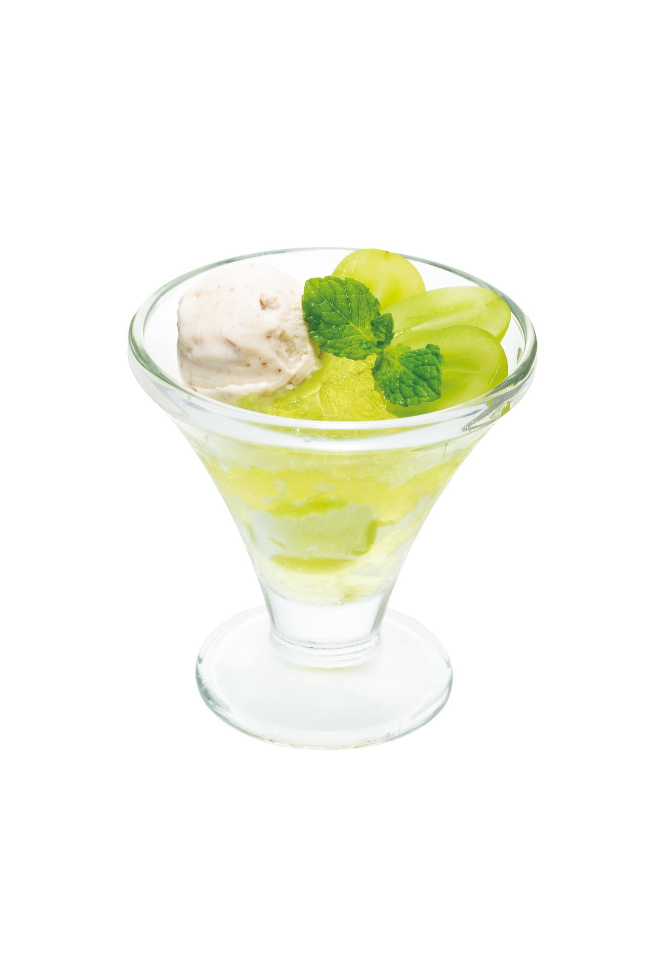 画像6: デニーズより2種の国産ぶどうを使用した季節デザートが新発売