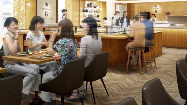 """画像1: """"誰かを誘って行きたいスターバックス""""スターバックス リザーブ® ロースタリー 東京からインスパイアされた新業態の1号店「スターバックス リザーブ® ストア 銀座マロニエ通り」がオープン"""