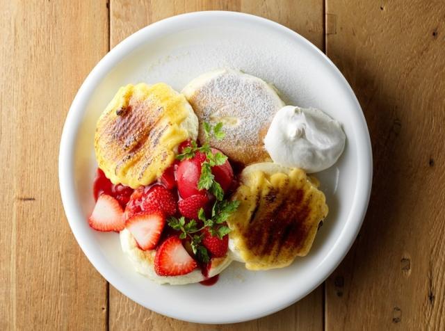 画像2: 新作パンケーキ「いちごブリュレ」