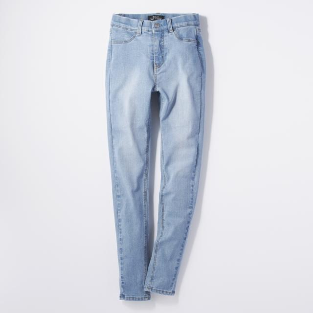 画像6: 穿くだけで太もも・ヒップ-3㎝!?サポートインナー付きジーンズ『SECRET LINE』がライトオンより新発売