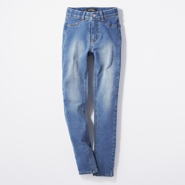 画像2: 穿くだけで太もも・ヒップ-3㎝!?サポートインナー付きジーンズ『SECRET LINE』がライトオンより新発売