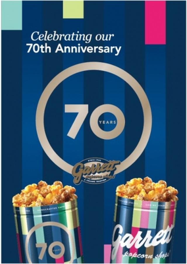 画像2: ギャレット ポップコーン ショップス®70周年記念!『70th Anniversary 缶』期間・数量限定で発売