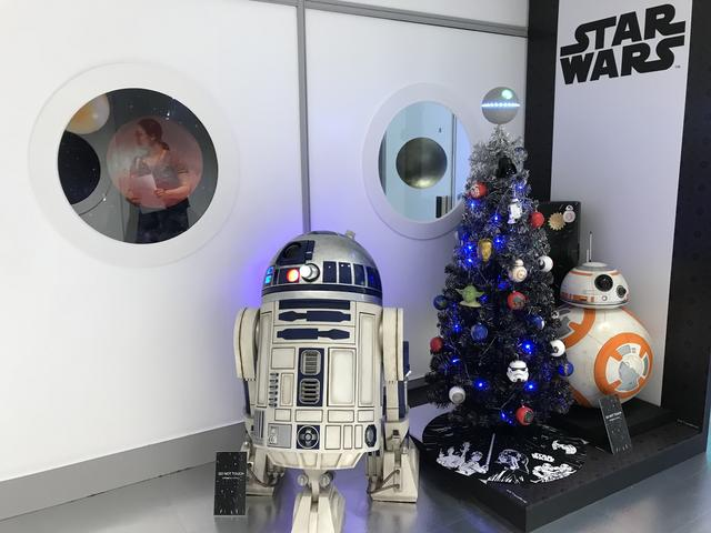 画像: クリスマス スターター セット(スター・ウォーズ)150cm/¥18,000