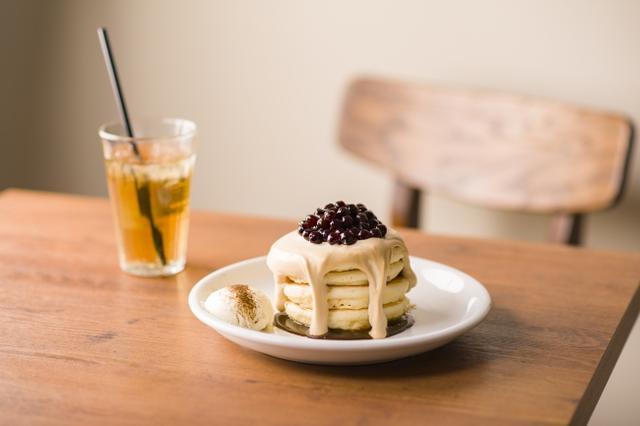 画像: タピオカ×パンケーキ