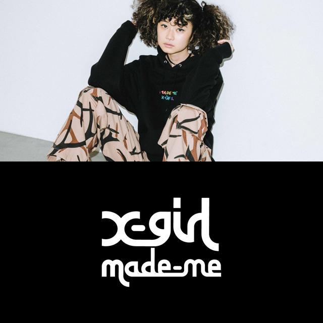 画像: X-girl × MADE ME|B's INTERNATIONAL OFFICIAL ONLINE STORE calif
