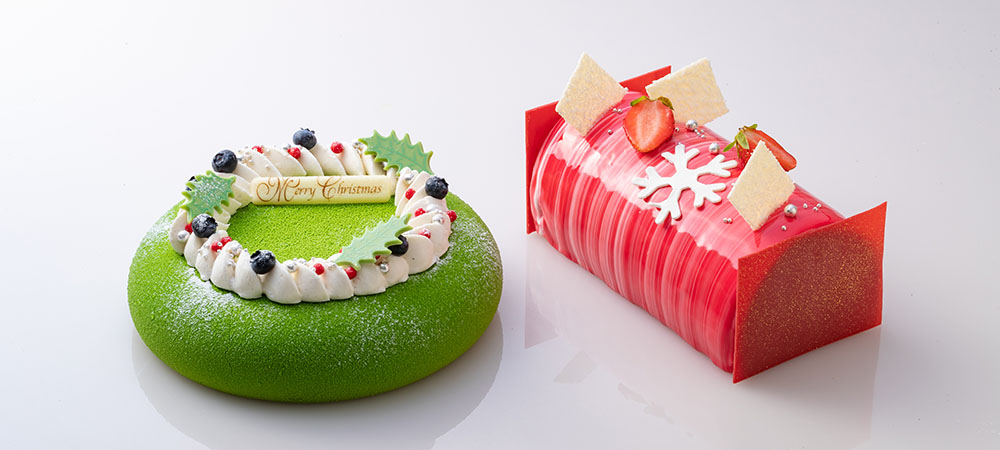 画像: 「クリスマスケーキ2019年」予約受付を10月1日(火)より開始!2種類の色鮮やかなケーキで華やかに | CONRAD OSAKA | コンラッド大阪|大阪のホテル予約