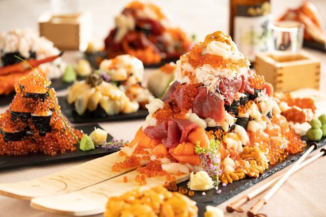 画像: 【星野リゾート トマム】 「海鮮こぼれフェス」に「メガこぼれ寿司」が登場 スキー場で海鮮を贅沢に味わう