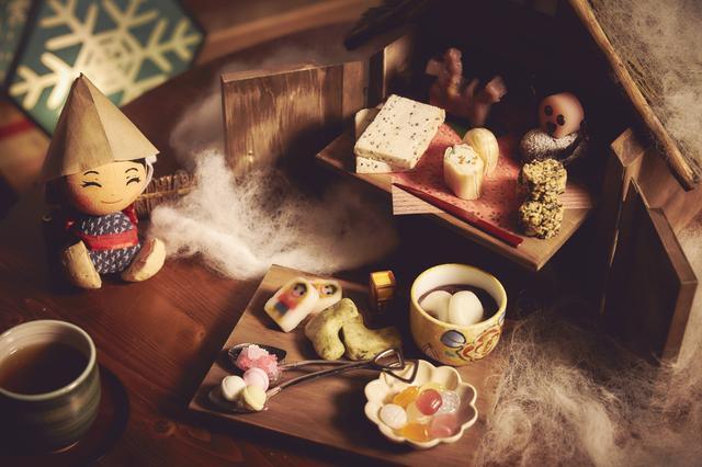 画像: 青森の郷土菓子を味わう雪ん子こんびり