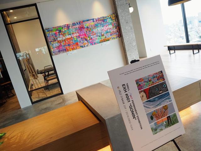 画像1: クリエイティビティを刺激するギャラリーとカフェ