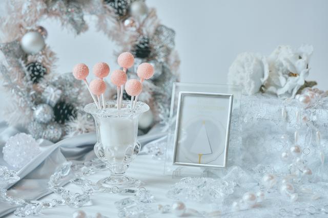 画像5: 「Royal White Christmas(ロイヤル・ホワイトクリスマス)」のデザート(一部)