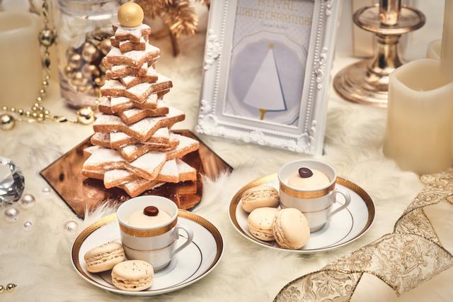 画像6: 「Royal White Christmas(ロイヤル・ホワイトクリスマス)」のデザート(一部)